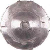 Рис. 1  вмятины на задней стороне колеса нагнетателя
